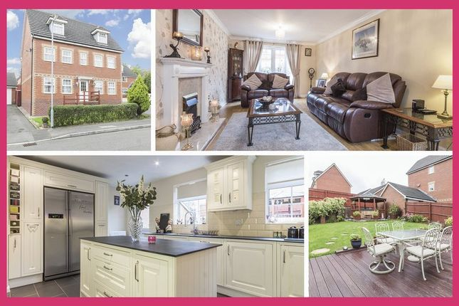 Thumbnail Detached house for sale in Builth Close, Coedkernew, Newport