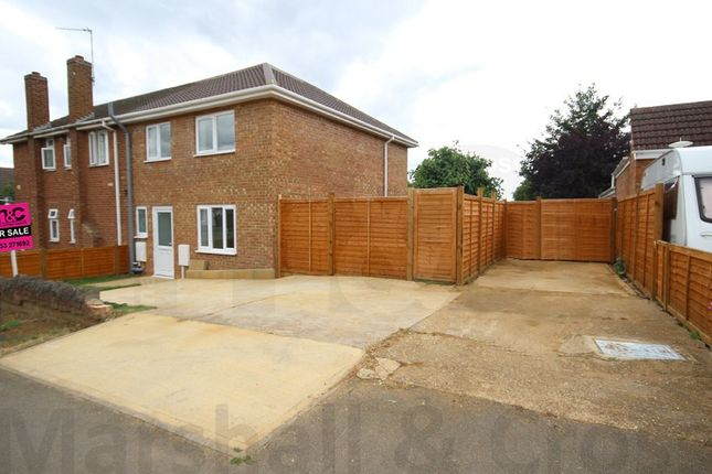 Thumbnail Semi-detached house for sale in The Pyghtle, Wellingborough, Northamptonshire.