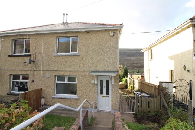 Thumbnail Semi-detached house for sale in Maeshafod, Blaina, Abertillery