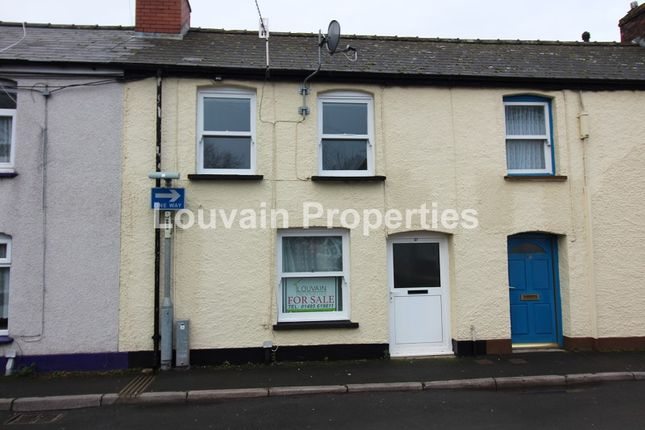Thumbnail Terraced house for sale in Commercial Street, Abergavenny, Monmouthshire.