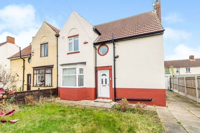 3 bed semi-detached house for sale in Wensley Road, Stockton-On-Tees TS18