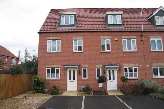Thumbnail End terrace house to rent in Copperfields, Wisbech, Cambs