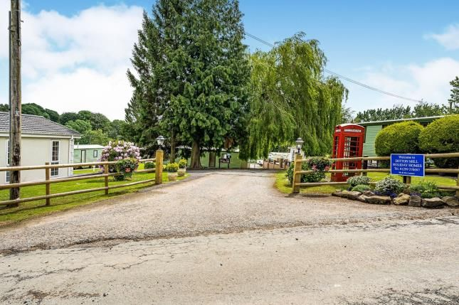 Approach of Ditton Mill Park, Cleobury Mortimer, Shropshire DY14