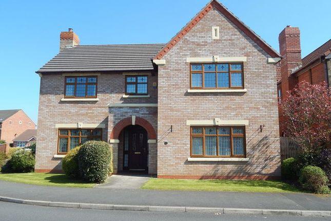 Thumbnail Detached house for sale in Pendlebury Close, Longton, Preston