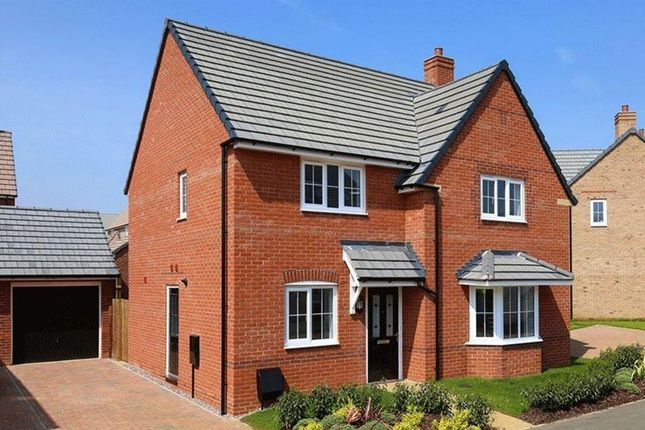"Thumbnail Detached house for sale in ""Cambridge"" at Michaels Drive, Corby"