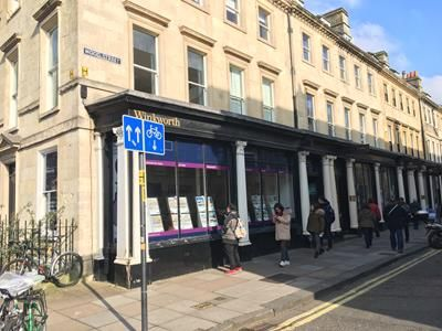 Thumbnail Retail premises to let in Ground Floor & Basement, 1 Wood Street, Bath, Somerset