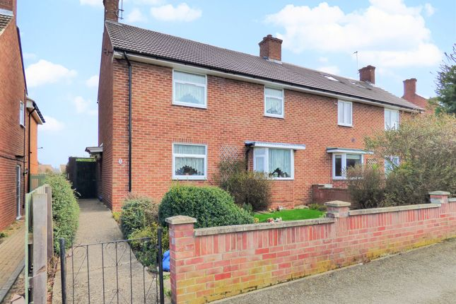 Thumbnail Semi-detached house for sale in Station Crescent, Lidlington