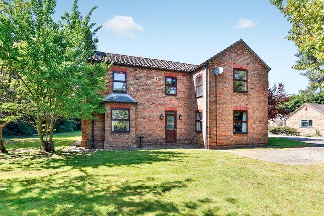 Thumbnail Farmhouse for sale in Anwick Lane End, Ruskington