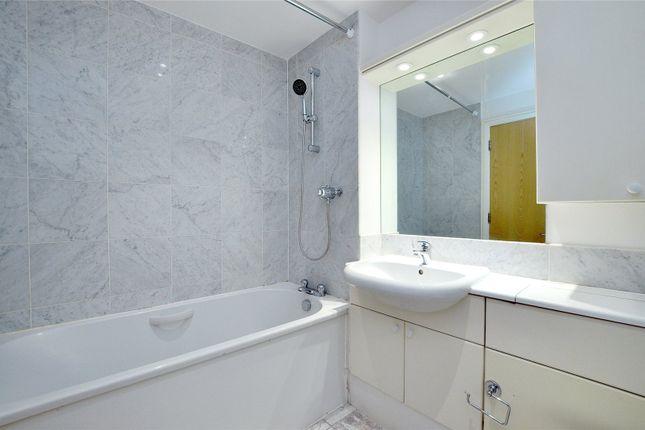 Bathroom of West One House, Fitzrovia W1W
