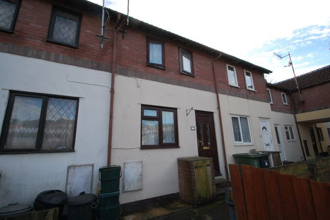 Thumbnail Terraced house for sale in Holne Court, Kinnerton Way, Exeter