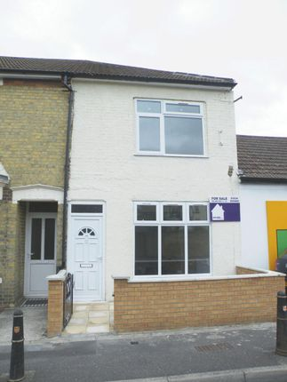 Thumbnail End terrace house for sale in Canterbury Street, Gillingham
