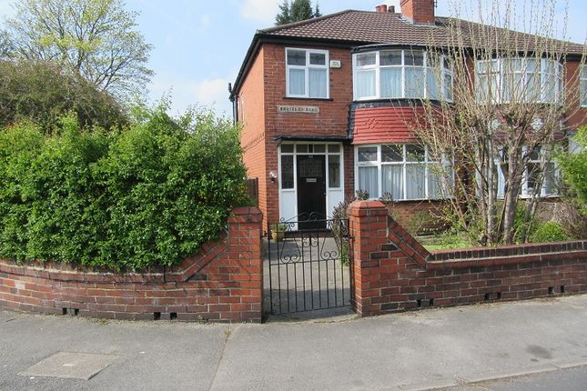 Thumbnail Semi-detached house for sale in Broseley Road, Firswood, Manchester