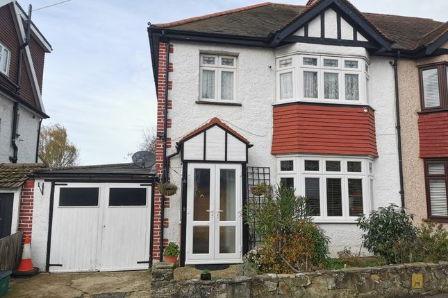 Thumbnail Semi-detached house for sale in Fromondes Road, Cheam