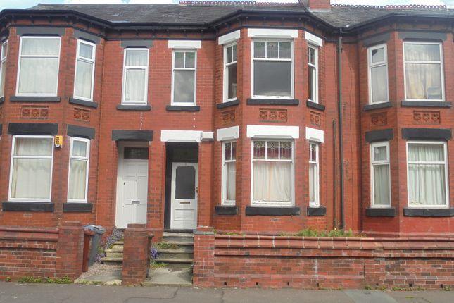 Thumbnail Terraced house for sale in Kensington Avenue, Manchester