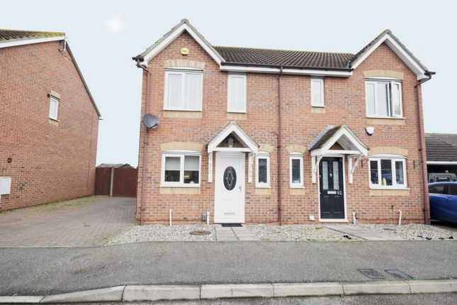 Thumbnail Semi-detached house for sale in Sunnedon, Basildon