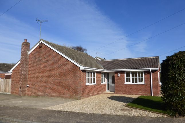 Thumbnail Bungalow to rent in Crosskeys Way, Mattishall, Dereham