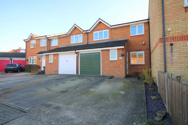 Thumbnail Terraced house for sale in Redford Close, Feltham, Middlesex