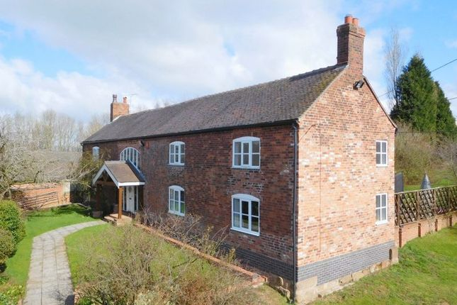 Thumbnail Detached house for sale in Barthomley Road, Audley, Stoke-On-Trent