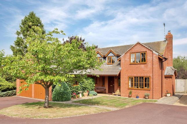 Thumbnail Detached house for sale in Tilton Road, Twyford, Melton Mowbray