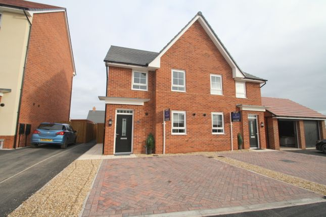 Thumbnail Semi-detached house to rent in Mallard Avenue, Malbank Water, Nantwich
