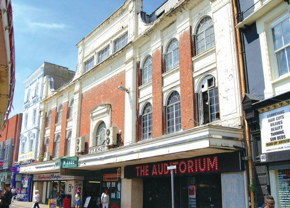 Thumbnail Block of flats for sale in The Odeon Arcade, 32-38 Market Place, East Midlands