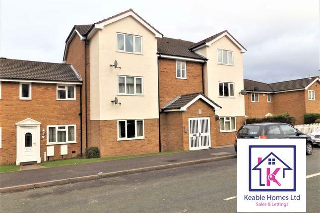 Thumbnail 2 bed flat to rent in Heath Way, Heath Hayes, Cannock