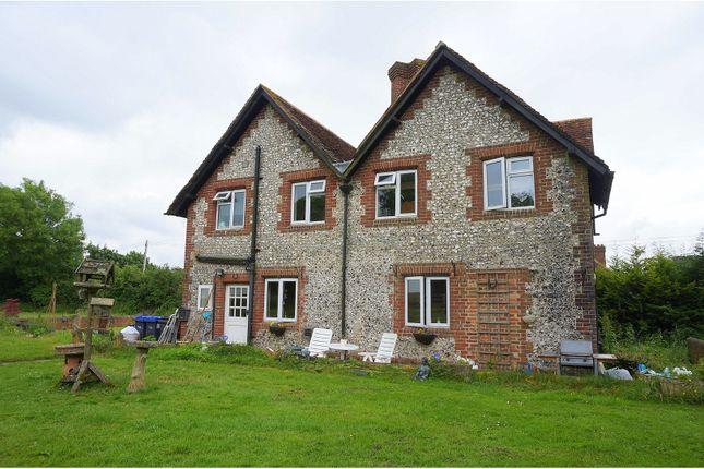 Thumbnail Farmhouse for sale in Blandford Road, Salisbury