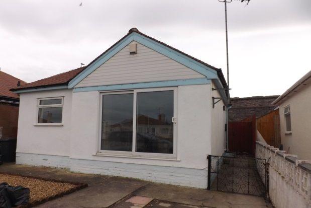 Thumbnail Detached bungalow to rent in Clwyd Gardens, Kinmel Bay, Rhyl
