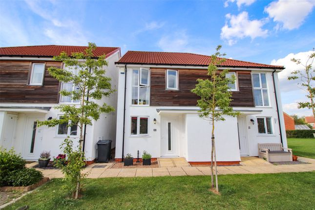 Thumbnail Semi-detached house for sale in Wesley Road, Cherry Willingham, Lincoln