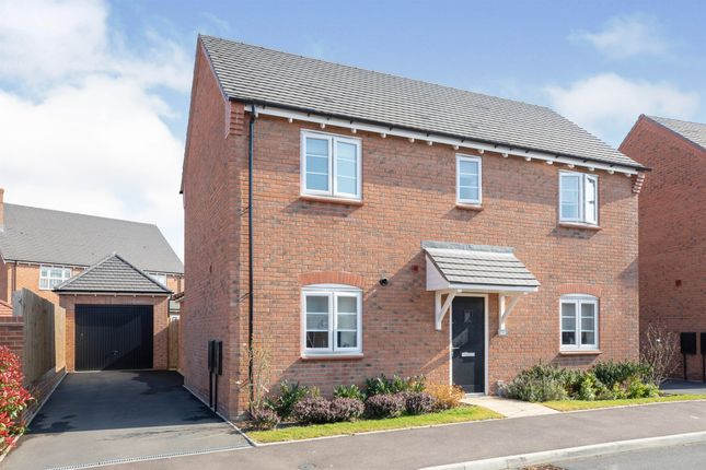 Thumbnail Detached house for sale in Norgren Crescent, Shipston-On-Stour