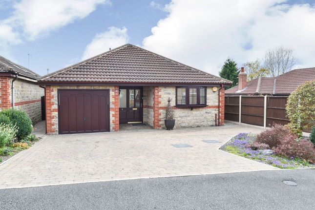 Thumbnail Detached bungalow for sale in Harewood Close, Belper