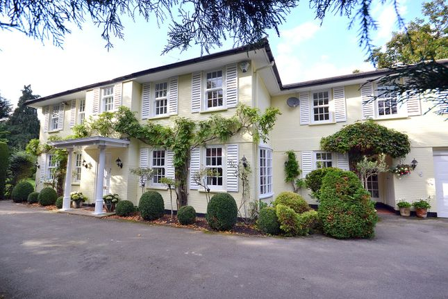 Thumbnail Detached house for sale in Kelvedon Avenue, Burwood Park, Hersham, Walton-On-Thames