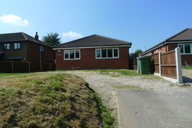 Thumbnail Detached bungalow for sale in Chapel Road, Beighton, Norwich