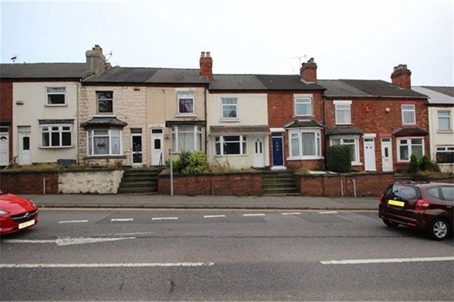 Thumbnail Terraced house to rent in Leeming Lane South, Mansfield Woodhouse, Mansfield