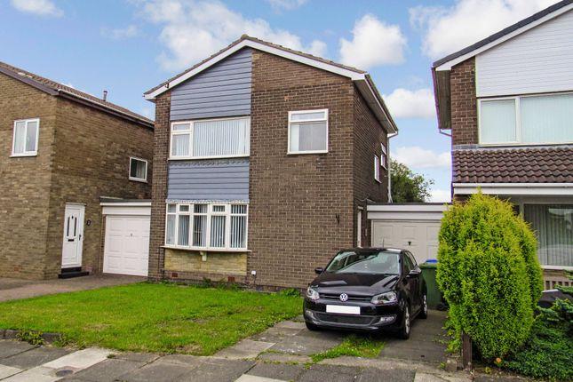 Thumbnail Detached house for sale in Harnham Grove, Cramlington