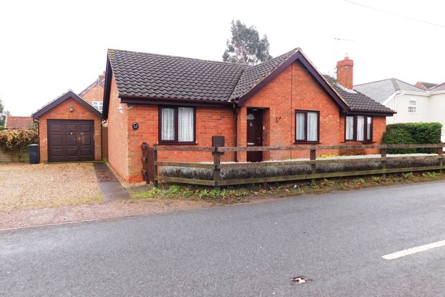 3 bed detached bungalow for sale in Finningham Road, Old Newton