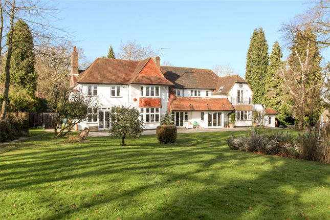 Thumbnail Detached house for sale in Epsom Road, West Horsley, Leatherhead, Surrey