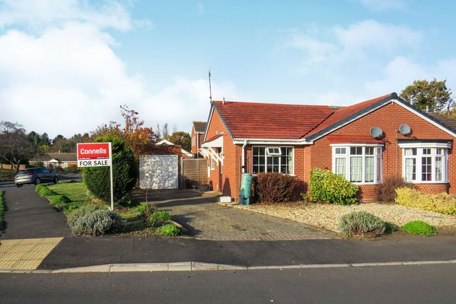 Thumbnail Semi-detached bungalow for sale in Hammerton Way, Wellesbourne, Warwick