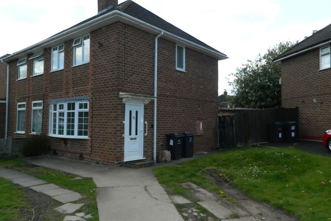 Thumbnail Semi-detached house to rent in Gillscroft Road, Kitts Green, Birmingham