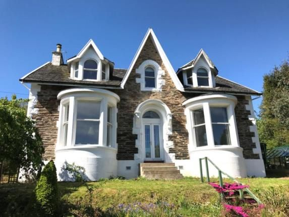 Thumbnail Detached house for sale in Clynder, Helensburgh, Argyll And Bute