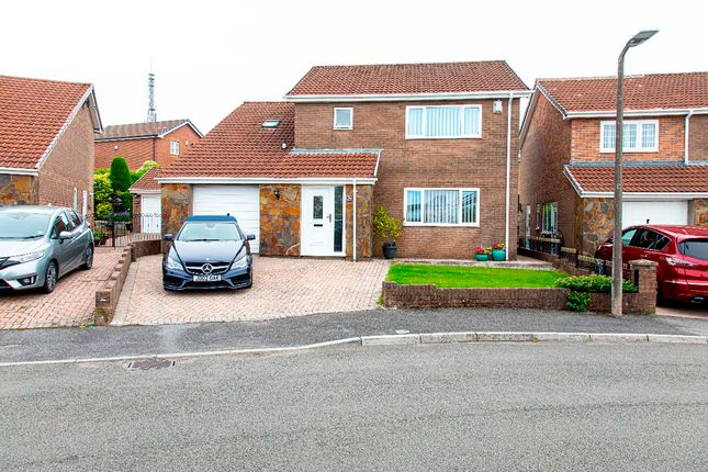4 bed detached house for sale in Ty Llwyd Parc Estate, Quakers Yard, Treharris CF46