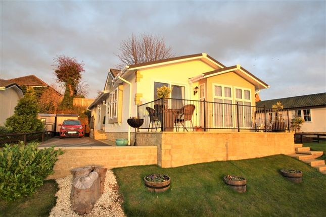 Thumbnail Detached bungalow for sale in Leven View Residential Park, Leven Bank Road, Yarm