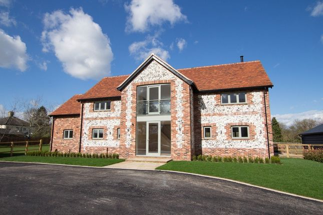 Thumbnail Detached house for sale in Burrs Lane, Barkway, Royston