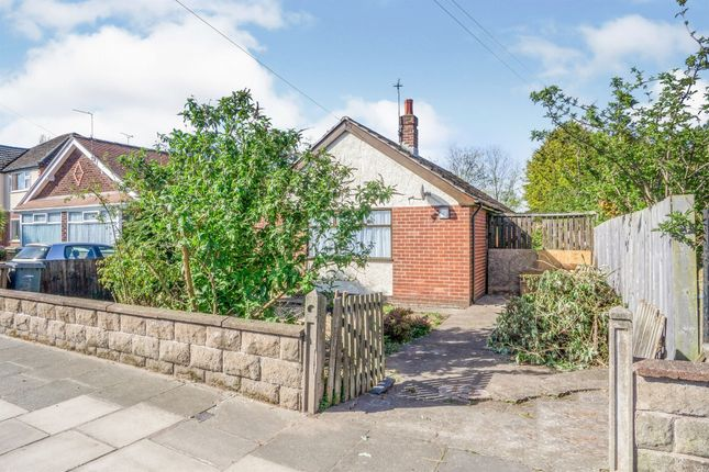 Thumbnail Detached bungalow for sale in Bermuda Road, Moreton, Wirral