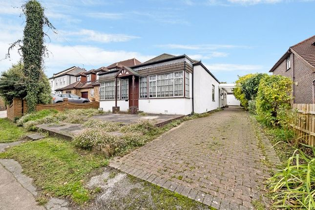 Thumbnail Detached bungalow for sale in Front Lane, Upminster