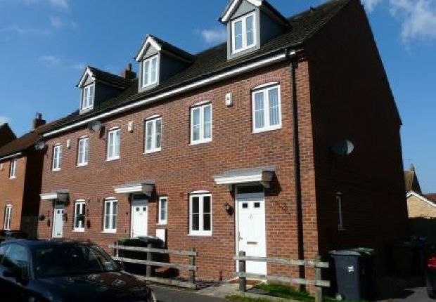 Thumbnail End terrace house to rent in Tall Pines Road, Witham St. Hughs, Lincoln