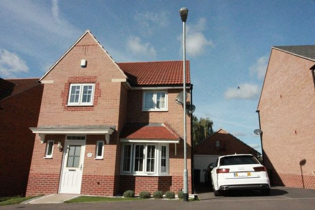 Thumbnail Detached house for sale in Roxburgh Close, Arnold, Nottingham