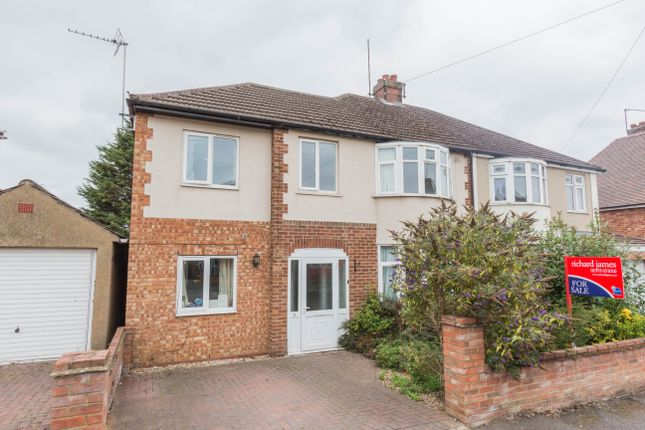 Thumbnail Semi-detached house for sale in Highfield Street, Finedon, Wellingborough