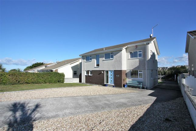Thumbnail Detached house for sale in Praze Road, Newquay, Cornwall