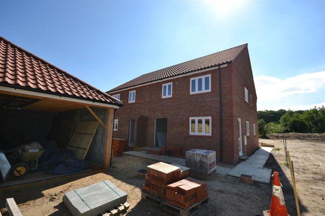 Thumbnail Semi-detached house for sale in Senters Road, Dersingham, King's Lynn